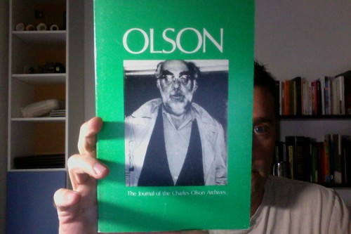 Olson: The Journal of the Charles Olson Archives, Number 4 by Michael_Kelleher
