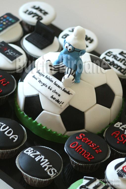 Top pasta ve cupcakeler