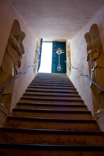 La escalera hacia la luz