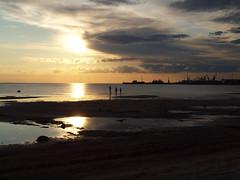 Stroomi beach in Tallinn, Estonia (Axiraa) Tags: sunset summer seascape beach landscape sand scenery europe tallinn estonia shoreline baltic baltics sadam gulfoffinland estland viro reval estonie maastik stroomi