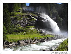 AUTRICHE  CASCADES (PUIGSERVER JEAN PIERRE) Tags: montagne de cascade chute deau pente forte cours torrent rapide debit torrrent