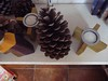 wood candlesticks and pineapple (Lisa Fenberg) Tags: ikea design bougies suede marimekko laine annukka finlande terracottatiles simplicité scandinave designscandinave créativité lampedetable johannagullichsen peauxdemouton carrelageterrescuites