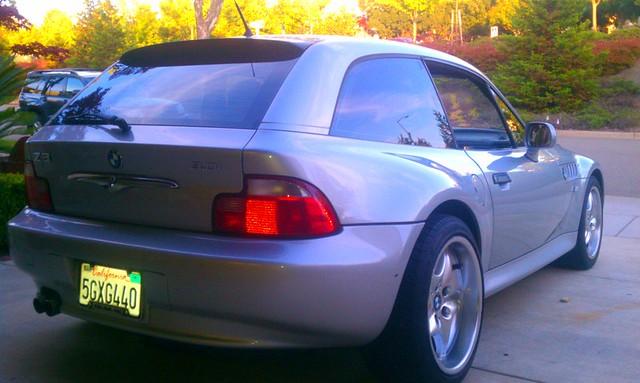 2001 Z3 Coupe | Titanium Silver | Black