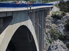 Sibenik Bridge - Bungee jumping, photo 6