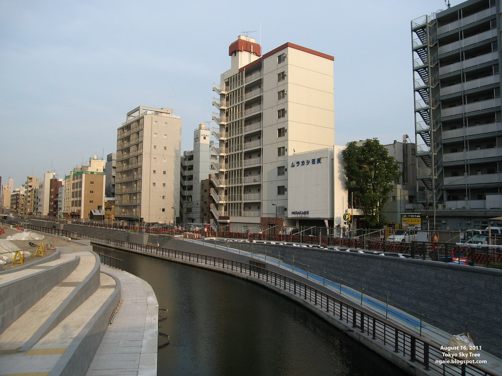 Area in front of Tokyo Sky Tree