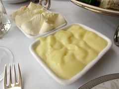 Lemon Curd and Clotted Cream