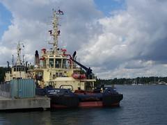 SVITZER TRYM (tompa2) Tags: sverige vatten hav södermanland fartyg bogserbåt oxelösund svitzertrym