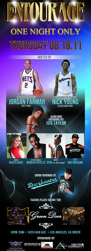 818 Day Celebration | Valley Day | NBA's Nick Young & Jordan Farmar + More! 8-18-11 #LANightLife by VVKPhoto
