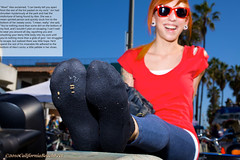 EvilGirl04 (gtsblade) Tags: feet socks foot sock squish crush giantess gts shrink shrunkenman