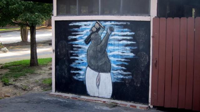 abdullah the butcher's mural