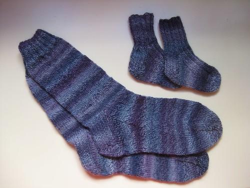 Big and little socks