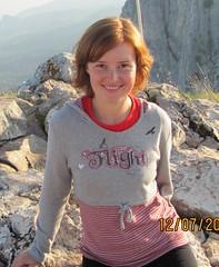 Ольга на Ай-Петри