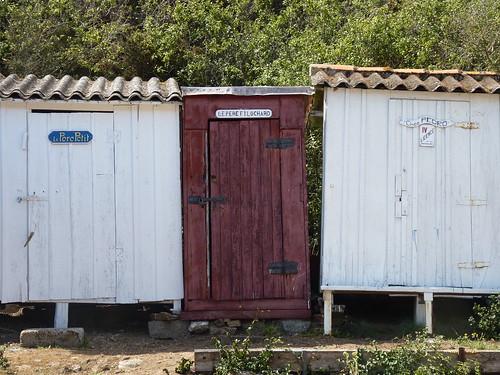 Cabanes de pêcheurs, Port de la Meule, Ile d'Yeu