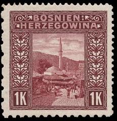 Bosnia 1906 1k