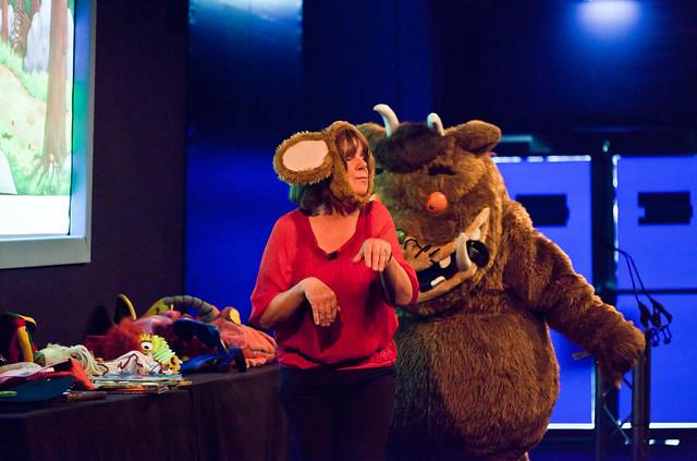 Julia Donaldson and The Gruffalo