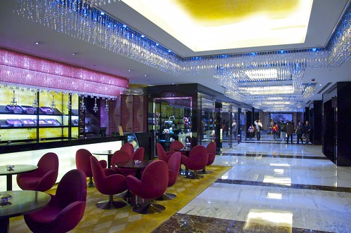 Grand Lisboa hotel hall