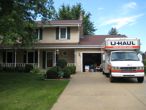 NB house and U-Haul