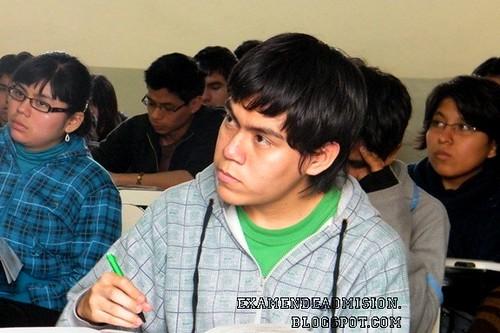 Estudiante de la Pre San Marcos