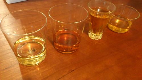 梅酒、4種
