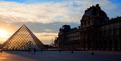 Louvre - Sunset (MagPhoto2011) Tags: sunset paris nikon louvre sigma 1224mm hdr lanscape d90