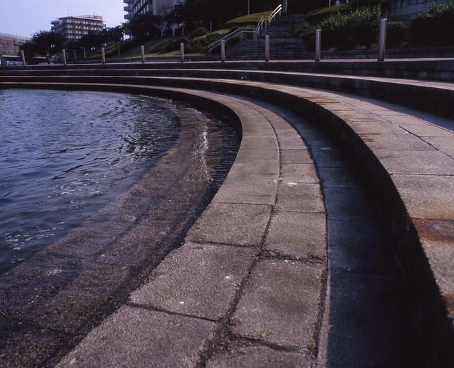 運河の親水エリア
