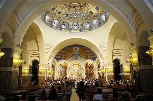 Basílica del Rosario del Santuario de Lourdes