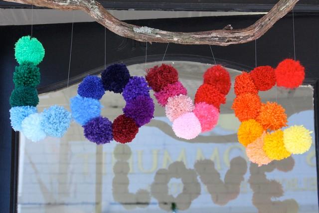 Popcraft Yarn Bombing