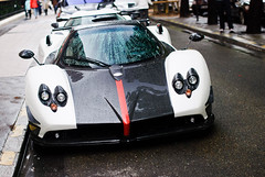 Pagani Zonda Cinque roadster 5/5 (Lambo8) Tags: horse white paris france car 50mm photo hp nikon italia power d s af gt nikkor 55 75 fr bianco f28 supercar ch cinque zonda roadster pagani fixe afd d80 worldcars