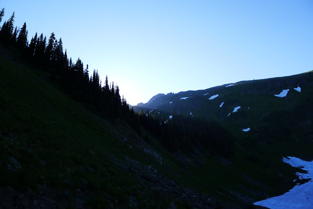 Sunrise above Mary Pass