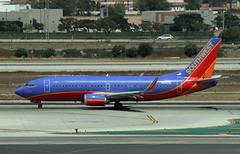 "Southwest Boeing 737-300 ""Silver One"" (Ron Monroe) Tags: boeing 737 southwestairlines silver1 lax airliners airlines klax n629sw"