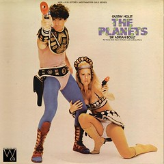 Holst Planets - Boult Westminster Gold (sacqueboutier) Tags: startrek starwars space pussy vinyl crotch vagina record planets buckrogers raygun bulge phaser holst