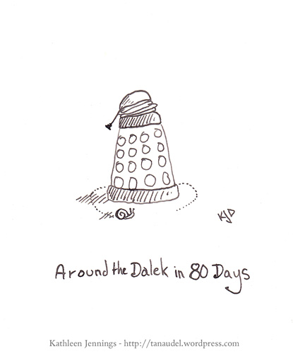 Around the Dalek in 80 Days