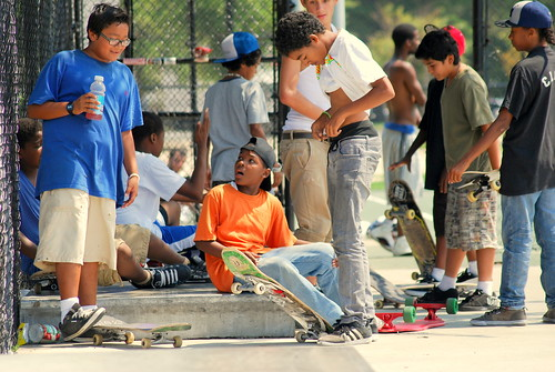 Skateboard Park - Down Time