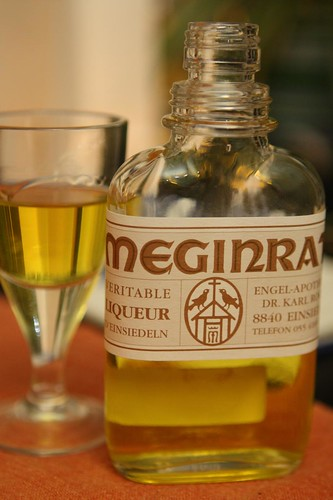 Meginrat Liqueur from Einseideln (straight up)