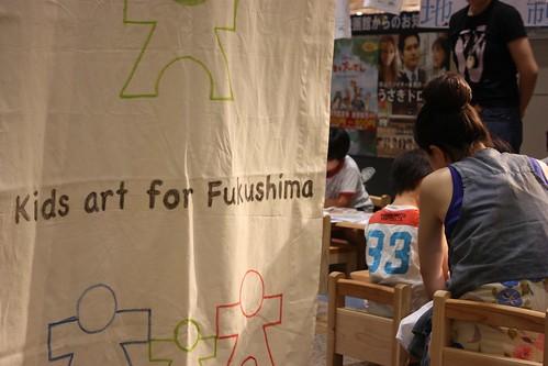 kids art for Fukushima