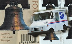 Postasaurus-Rex? (lclower19) Tags: nikon d90 18135mm tamron 90mm usps truck stamps mail letters ourdailychallenge odt futureobsolescence