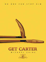 Silver Screen Society - Get Carter (kolbisneat) Tags: film yellow illustration shoes michaelcaine getcarter kolbisneat silverscreensociety