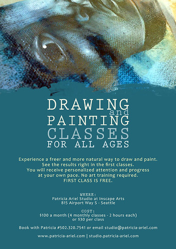 Flyer for my Drawing & Painting classes
