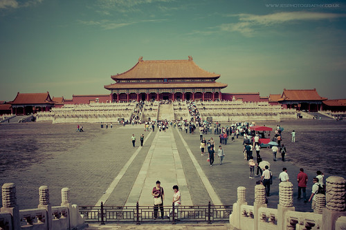 China Forbidden City Beijing
