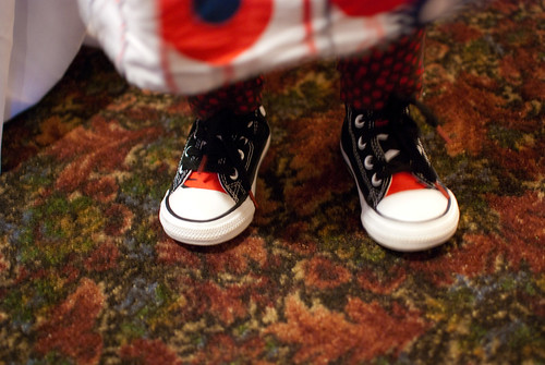 Converse Cat in the Hat high-tops