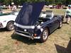1968 TR4  TR250(2) (cjp02) Tags: show classic car vintage indiana days british motor zionsville fujipix av200 cjp02 1968tr4tr250indy