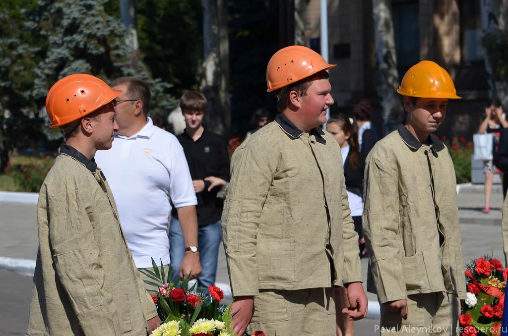 Будущие шахтеры