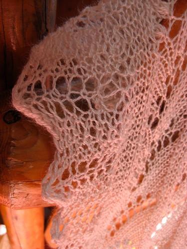 LOTV Shawl- edging Closeup