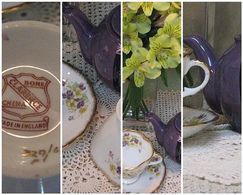 Clarence  Tea Cup Mosaic