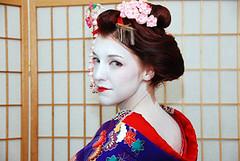 Maiko-Henshin (Hasume - San) Tags: maiko henshin maikohenshin