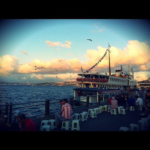 Ready to sail #istanbul #sea #cloud #clouds