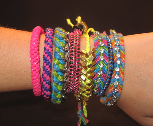 Diy bracelet craze and made a bagillion bracelets diy arm parties for