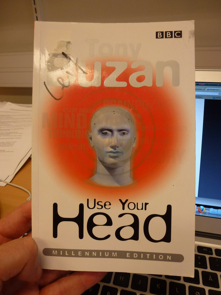 Tony Buzan Book Cover for Use Your Head