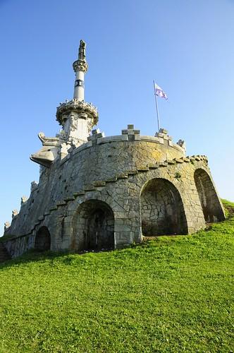 Monumento al Marqués de Comillas - Comillas - Cantabria