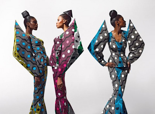 Dazzling Graphics' fabric collection from Vlisco - 3